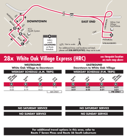 28x White Oak Village Express (HRC)