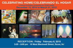 Celebrating Home Art Reception