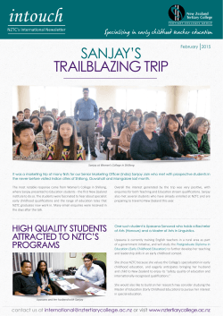 February 2015 - New Zealand Tertiary College
