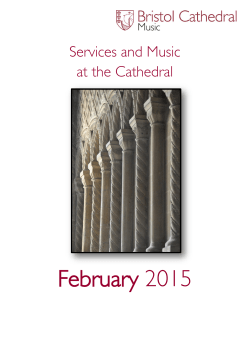 February 2015 - Bristol Cathedral