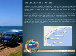 THE DIAZ EXPRESS (Pty) Ltd