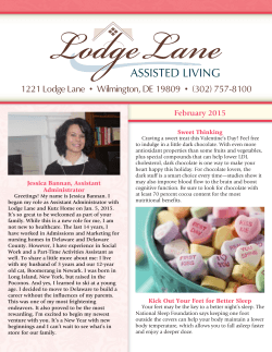 1221 Lodge Lane • Wilmington, DE 19809 • (302) 757-8100