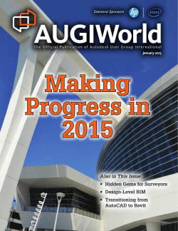 Download Networking Nirvana: AUGI at Autodesk University
