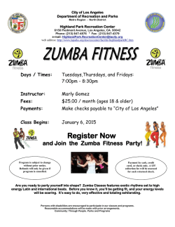 Register Now - City of Los Angeles Department of Recreation and