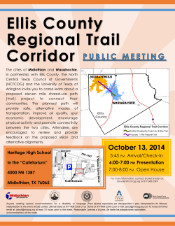Ellis County Regional Trail Corridor - City of Midlothian