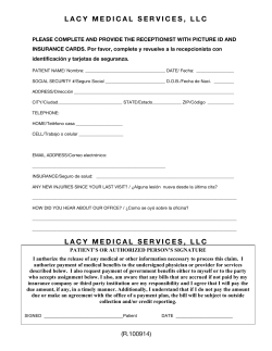 lacy medical services, llc lacy medical services, llc