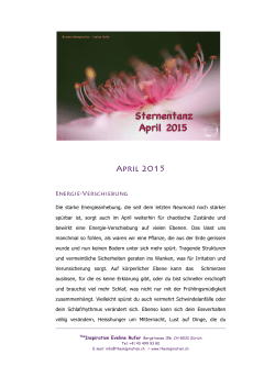 2015 April Sternentanz Leseprobe