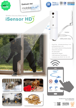 Amaryllo iSensor HD 180