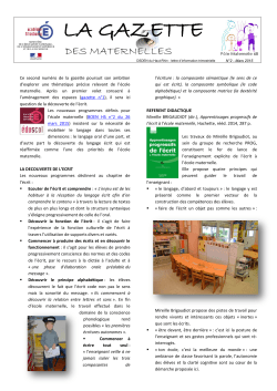 Gazette n°2 - Circonscription d`Illfurth