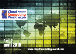 Mise en page 1 - Cloud Computing World Expo