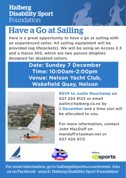 Have a Go at Sailing