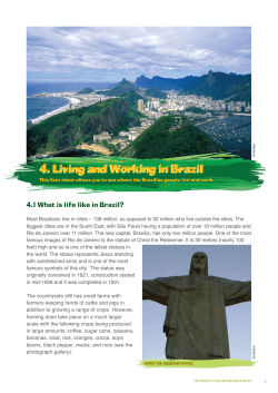 4.1 What is life like in Brazil?
