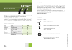 Product Information OK OK Plus