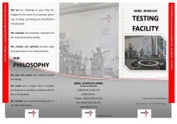 Flyer Testing Facility