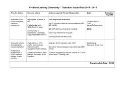 Crediton Learning Community – Leadership and Governance