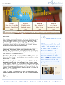 Cobb Tales May 30, 2014