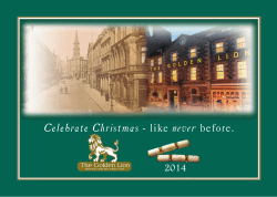 download our festive brochure