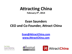 Attracting China
