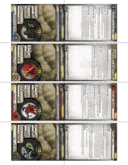 Scaefang Cards - Privateer Press