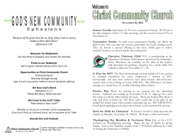 Download PDF - Christ Community Church