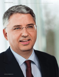 Download Aktionärsbrief CEO