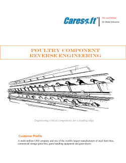POULTRY COMPONENT REVERSE ENGINEERING