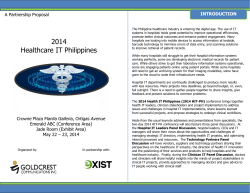 Partnership Proposal - Healthcare IT Philippines