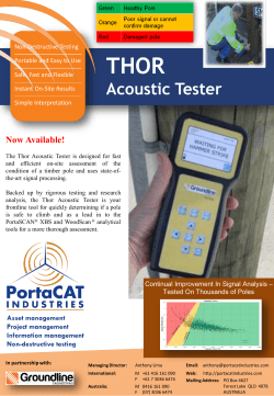 THOR Acoustic Tester - PortaCAT Industries