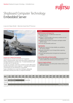 Shipboard Computer Technology Embedded Server
