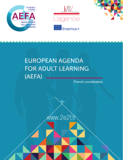 aefa - Agence Erasmus+ France / Education Formation