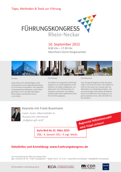 Download Kongressflyer (PDF)