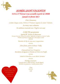 Soirée St Valentin - Salle DAILLY Isneauville 2015 or