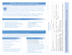 working together conference 2015
