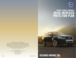 to download the Volvo Increased Protection Plan