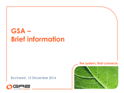 GSA_Current_Status_v4_final_20141211