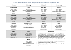 Download aktueller AG-Plan 2014/2015