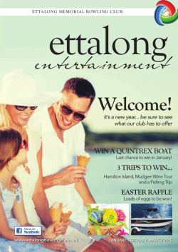 Download Members Magazine - Ettalong Memorial Bowling Club