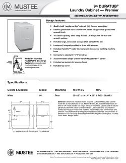 Download Specification Sheet (PDF)