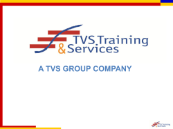 A TVS GROUP COMPANY