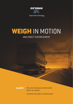 Weigh-in-Motion