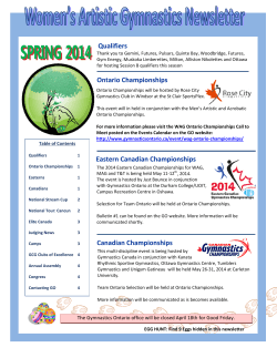 WAG Newsletter – March 2014