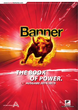 THE BOOK OF POWER CH (30.8 Mb) - Banner GmbH