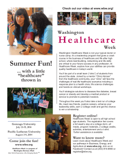 Healthcare Week Flyer (2014).indd