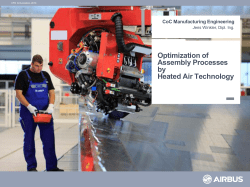 Optimization of Assembly Processes by Heated - CFK