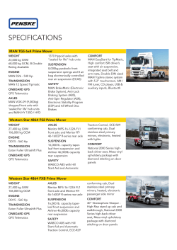 download our current spec sheet