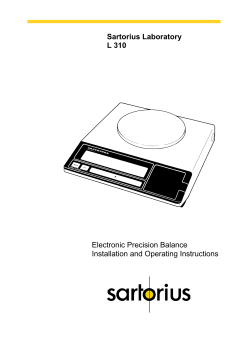 Download File - Sartorius Laboratory Products
