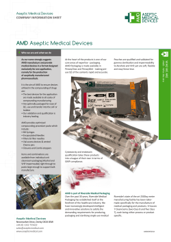 AMD Aseptic Medical Devices