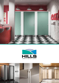 Hills Cubicles Catalogue