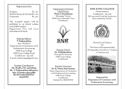 snr sons college snr sons college