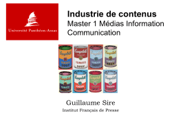 Slides du cours - WordPress.com
